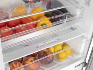 Пластик с антибактериальным покрытием в холодильниках Maunfeld