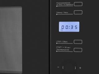 Яркая подсветка дисплея в микроволновых печах Maunfeld